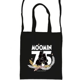 嚕嚕米Moomin 75周年紀念 購物袋(黑色)