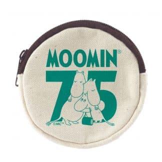 嚕嚕米Moomin 75周年紀念 零錢包(白色)