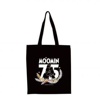 嚕嚕米Moomin 75周年紀念 手提購物袋(黑色)