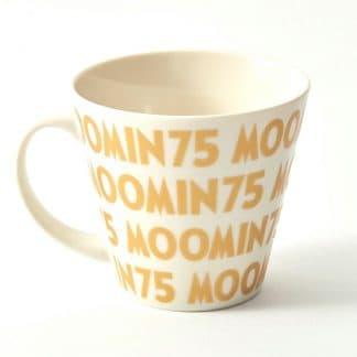 嚕嚕米Moomin 75周年紀念馬克杯(金色) Yamaka山加
