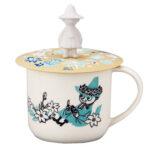 Moomin矽膠杯蓋馬克杯(阿金)-1
